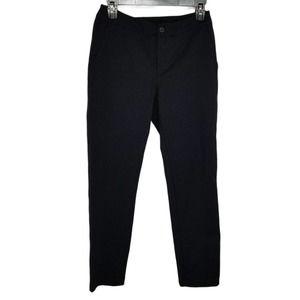American Giant Black Ponte Dress Pants Size 2